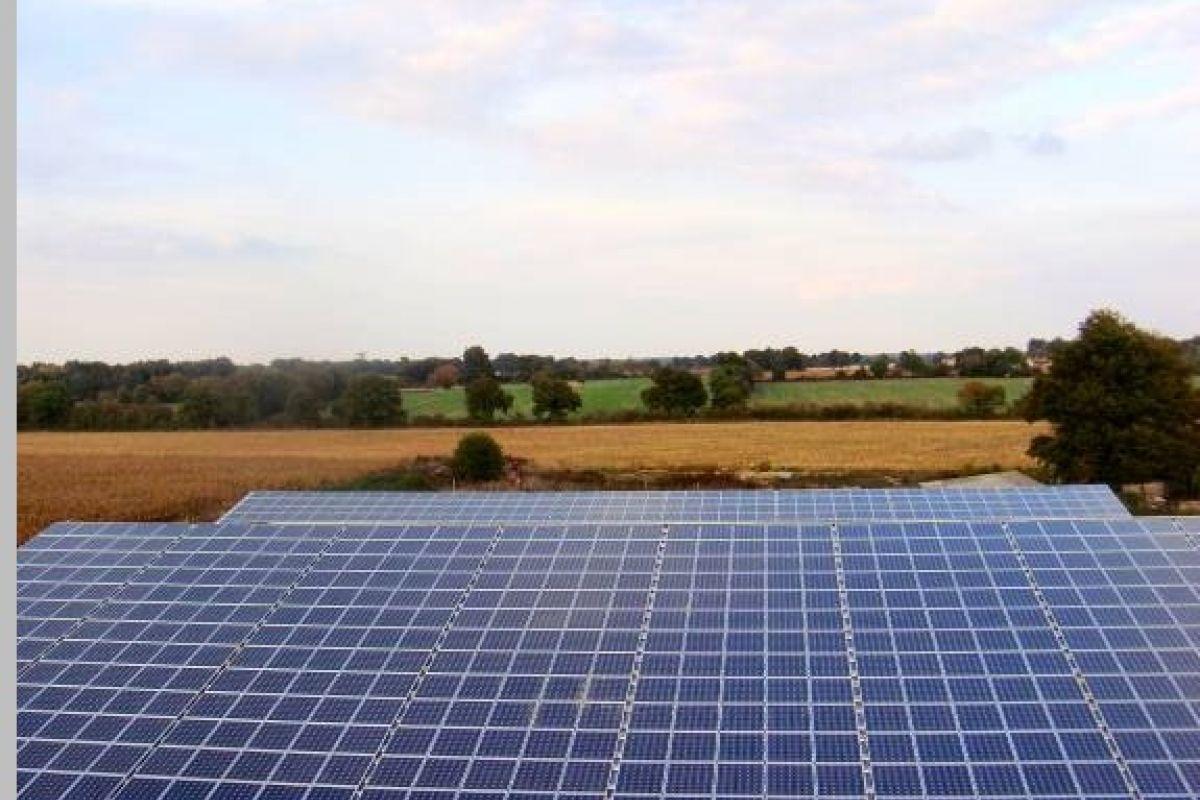 Imagen de los trabajos realizados de energia fotovoltaica