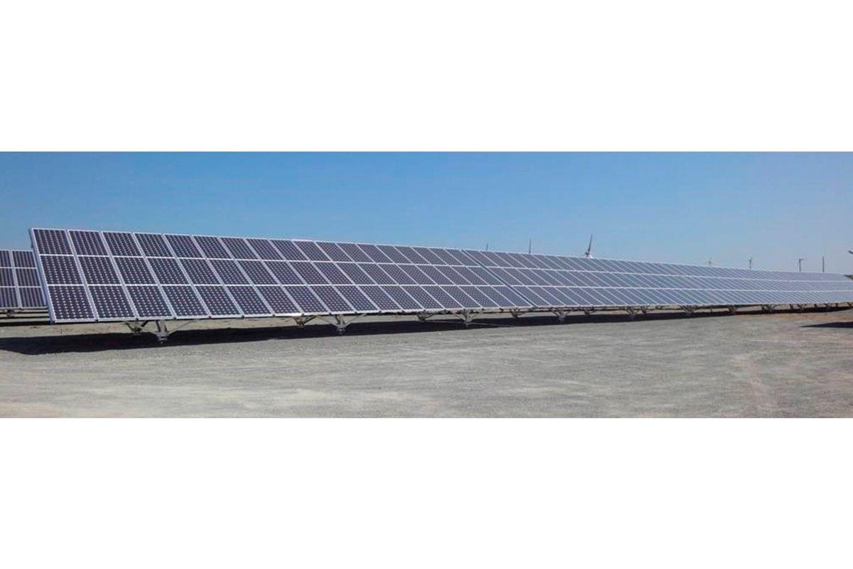 Imagen de la planta solar